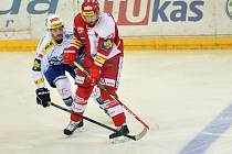 Slavia - Brno: David Ostřížek a Michal Poletín