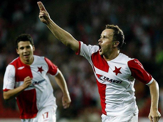 Slávisté si proti Bělehradu zajistila výbornou výchozí pozici.