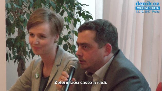 Diskuse pražských lídrů 2