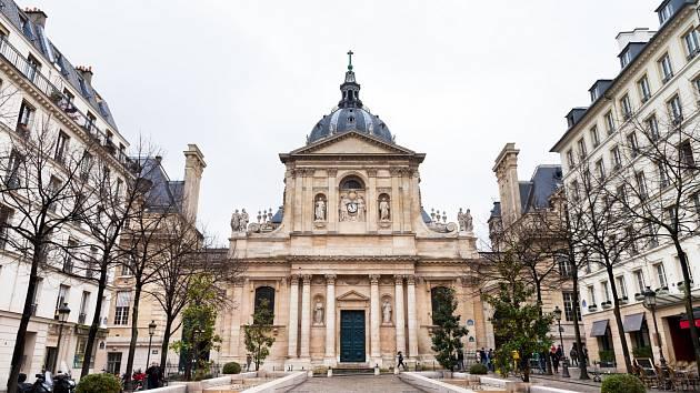 Pařížská univerzita Sorbonna. Ilustrační snímek