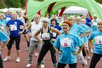 Sportovní hry seniorů.