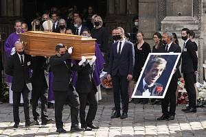 V kostele Saint-Germain-des-Prés v centru Paříže se 10. září 2021 uskutečnil pohřeb francouzského herce Jeana-Paula Belmonda, který zemřel v pondělí 6. září ve věku 88 let