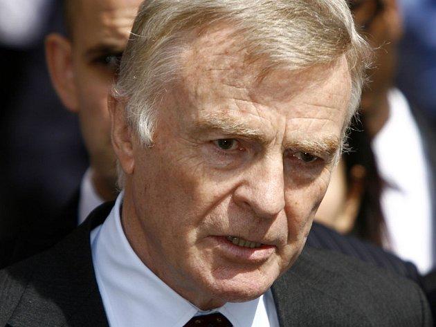 Šéf FIA Max Mosley.