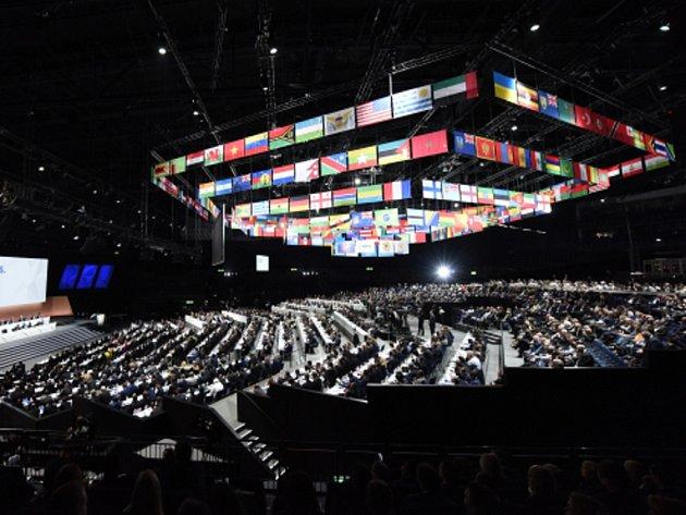 Kongres FIFA v Curych.