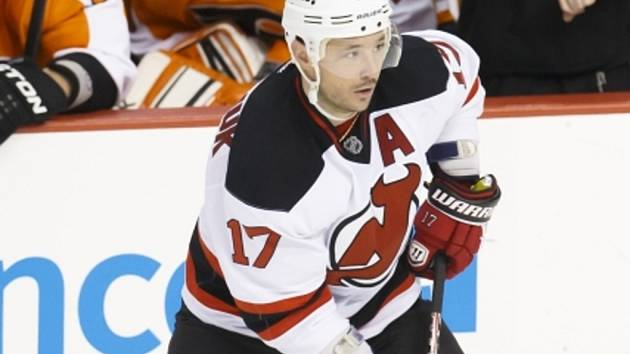 Hvězda New Jersey Ilja Kovalčuk.