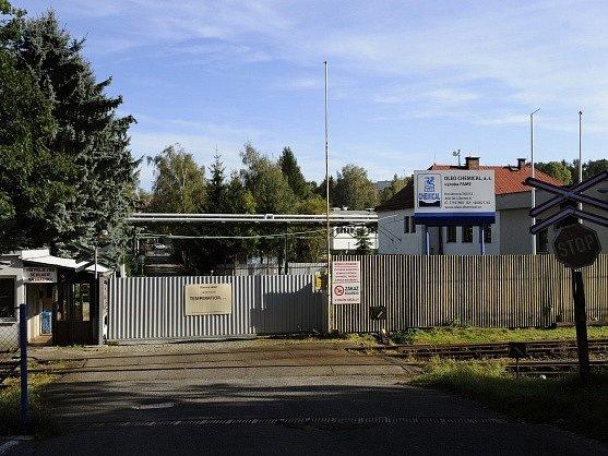 Výrobní závod petrochemické společnosti Oleo Chemical v Liberci.
