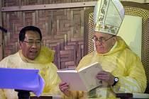 Papež František na Filipínách.
