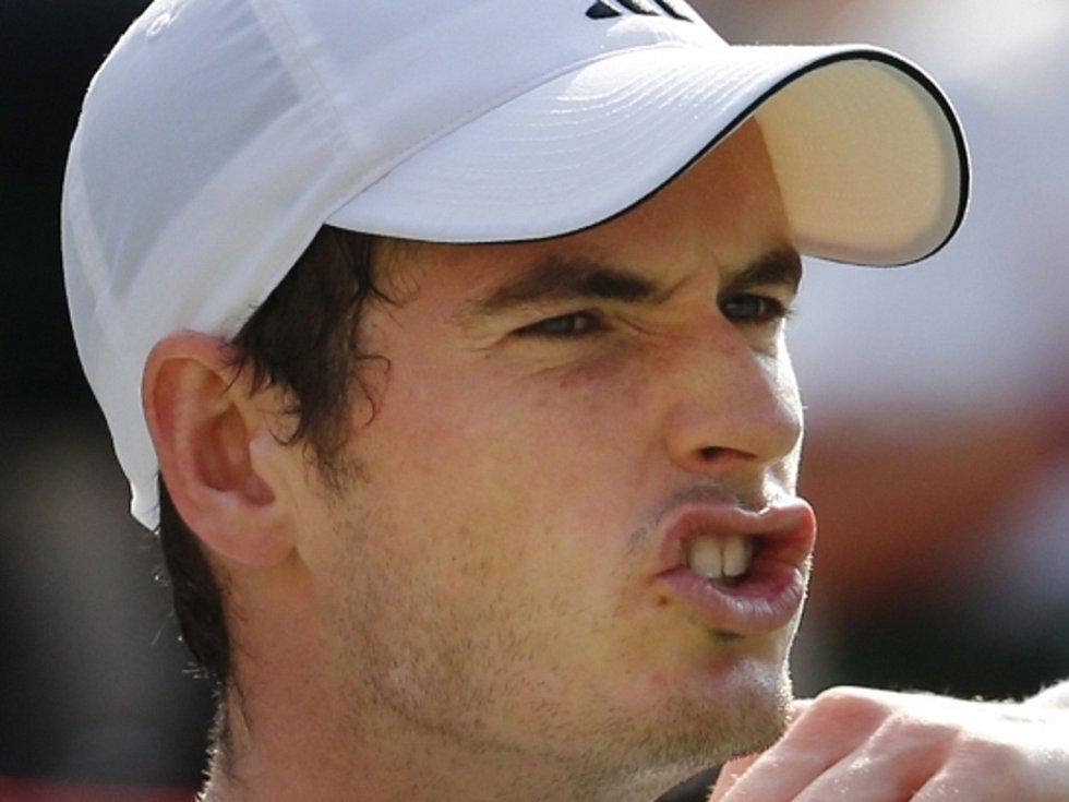 Andy Murray v semifinále turnaje v Tokiu.