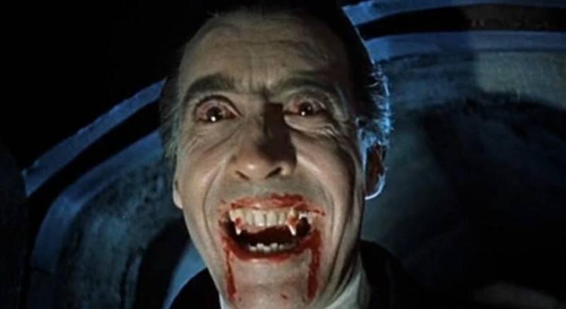 Nejslavnější Drákula všech dob, britský herec Christopher Lee