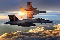 Americká stíhačka F/A-18 Super Hornet