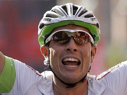 John Degenkolb slaví druhý triumf na letošní Vueltě.