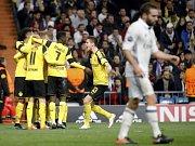 Fotbalisté Dortmundu vyválčili na půdě Realu bod za remízu 2:2.