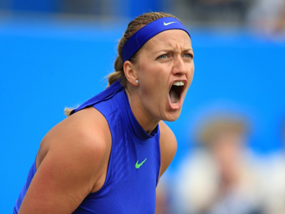 Petra Kvitová se po zranění vrátila parádně, ovládla turnaj v Birminghamu.