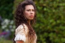Daniela Lavender v roli Titánie z představení The British Shakespeare Company Sen noci svatojánské