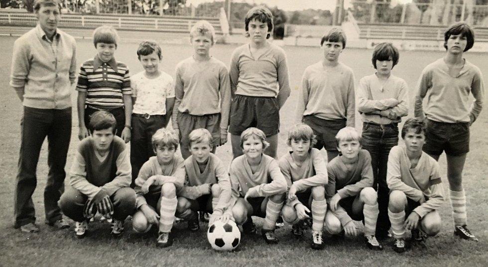 Archivní snímek z fotbalu