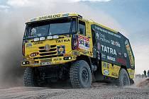 Aleš Loprais skončil na Rallye Hedvábné stezky bronzový.