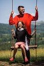 Lukáš Hejlík s dcerou Klárkou