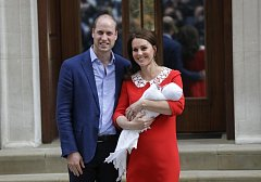 Třetí potomek Williama a Kate