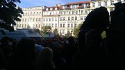 Demonstrace v Praze - proti Andreji Babišovi a Miloši Zemanovi