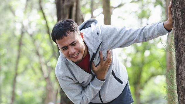 Srdeční potíže se mohou objevit kdykoliv.