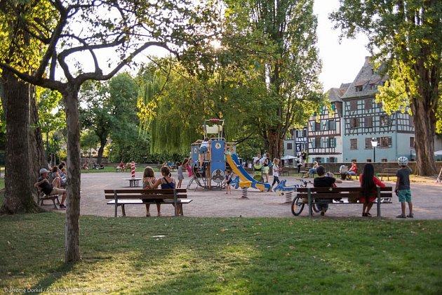 Parky ve Štrasburku