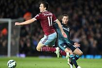 West Ham - Chelsea: Stewart Downing a Eden Hazard