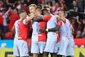 K účasti v základní skupině Evropské ligy musí pražská Slavia uspět v Polsku.
