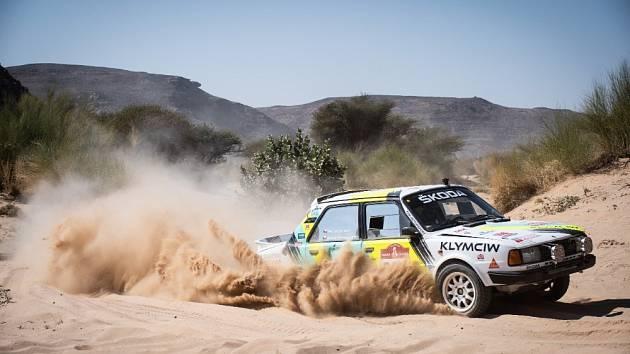 Ondřej Klymčiw během Rallye Dakar 2021