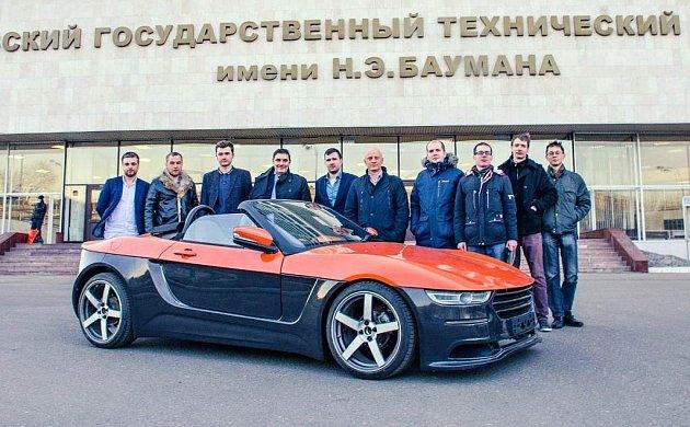 Ruský roadster Krym.