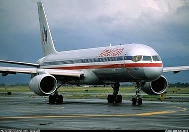 Inkriminovaný letoun vyfocený v červenci 1995, pět měsíců před katastrofou