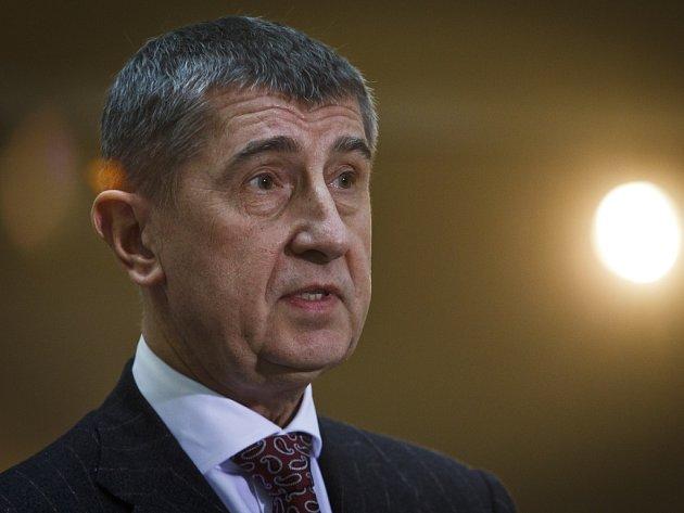Vicepremiér Andrej Babiš.