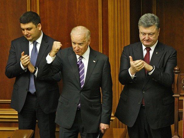 Spojené státy nikdy nezmění svůj názor na ruskou anexi Krymu. V kyjevském parlamentu to dnes prohlásil americký viceprezident Joe Biden.