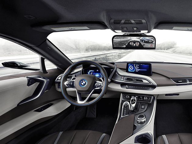 Koncept BMW i8 Mirrorless.