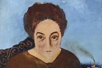 Portrét Marguerite Neveux od Josefa Šímy se 26. dubna na aukci v Praze prodal za 4,45 milionu korun.