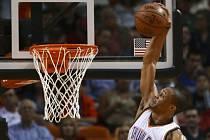 Russel Westbrook z Oklahoma City Thunder.