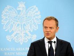 Polský premiér Donald Tusk
