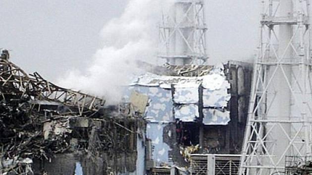 Jaderná elektrárna Fukušima poničená vlnou cunami