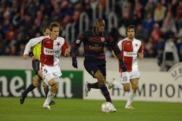 Fotbal Slavia - Arsenal