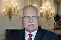 Prezident České republiky Václav Klaus