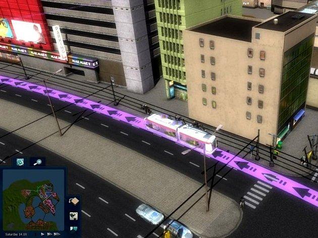 Počítačová hra Cities in Motion 2.