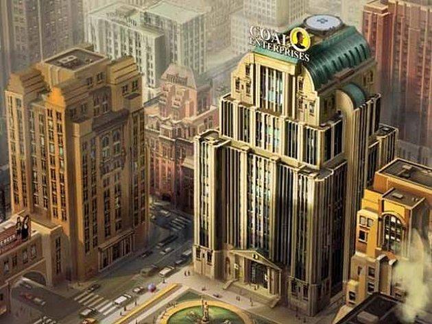 Uniklé artworky z počítačové hry SimCity.