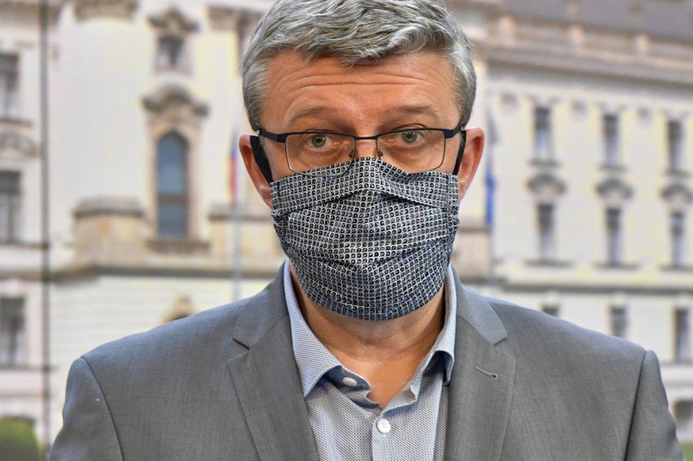 Místopředseda vlády, ministr dopravy a ministr průmyslu a obchodu Karel Havlíček