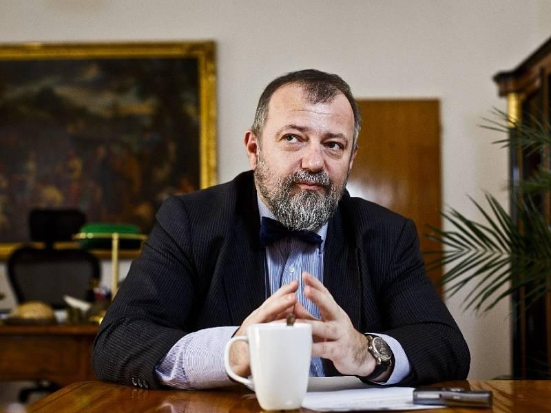 Český velvyslanec ve Washingtonu Hynek Kmoníček