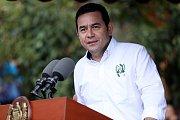 Guatemalský prezident Jimmy Morales