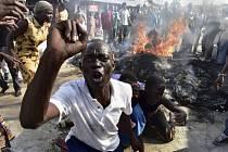 Nepokoje v Keni během prezidentských voleb