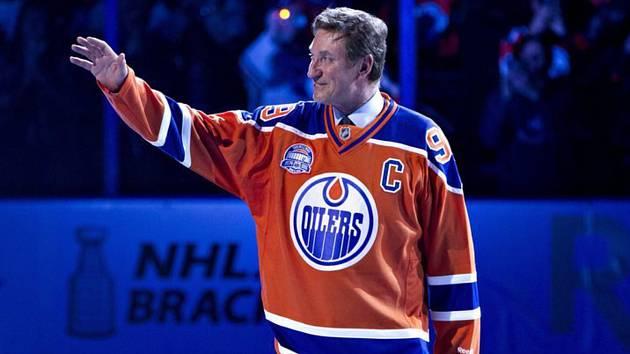 Bývalý hokejista Edmontonu Wayne Gretzky.