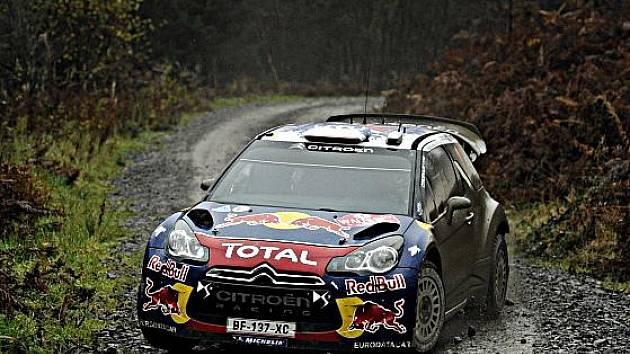 Šampion rallye Sébastien Loeb.