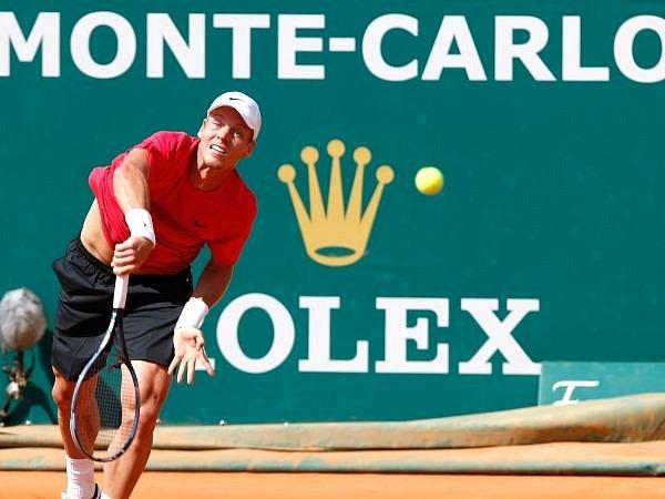 Tomáš Berdych na antuce v Monte Carlu.