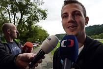 Český fotbalový záložník Vladimír Darida.