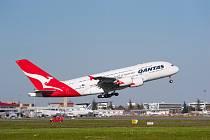 Airbus A380 společnosti Qantas